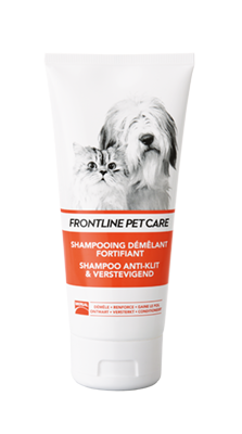 Tube Frontline Pet Care Shampoo Anti-klit & Verstevigend